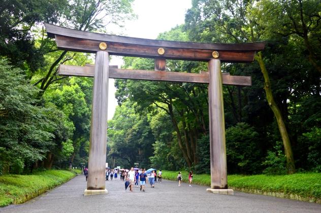 Tori en el parque Yoyogi