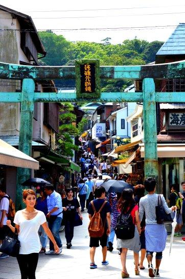 Calle principal de Enoshima
